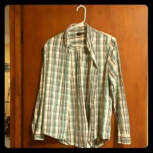 Plaid Button Down Shirt - Will be donated 11/8